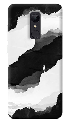 Black Isolation Redmi 5 Case