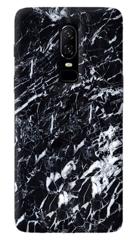 Black Marble Oneplus 6 Case