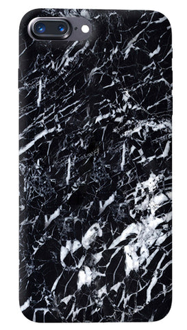 Black Marble iPhone 8 Plus Cover