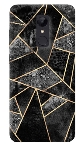 Black Stone Redmi 5 Case