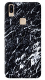 Black Marble Vivo V9 Cover
