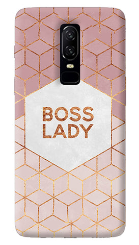 Boss Lady Oneplus 6 Case