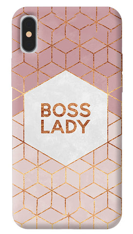 more photos a89cb b1fa1 Boss Lady iPhone X Cover