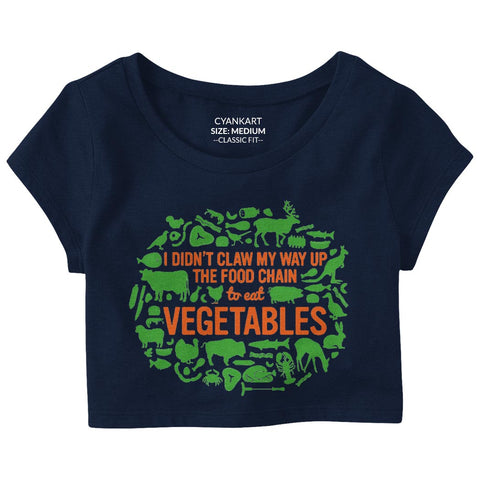 Non Vegetarian Crop Top
