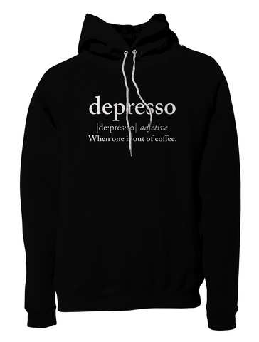 Depresso Pullover Hoodie