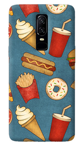 Fast Food Oneplus 6 Case