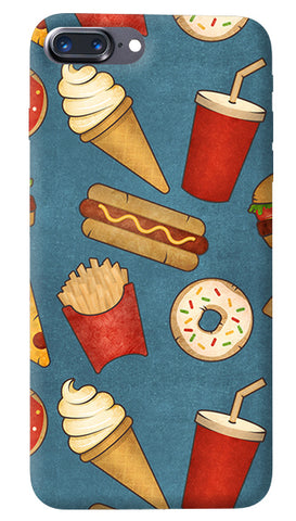 Fast Food iPhone 8 Plus Cover