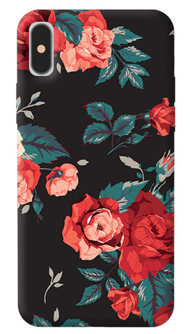 Flower Fashion iPhone X Cover