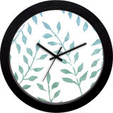 Fronds Print Wall Clock