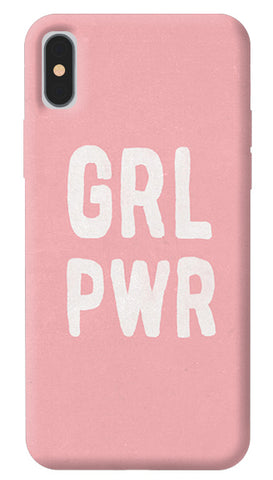 Girl Power iPhone X Cover