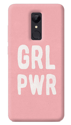 Girl Power Redmi 5 Case