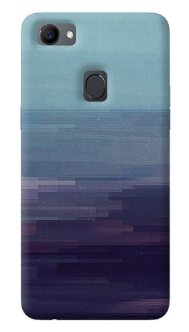 Glitched Oppo F7 Cover