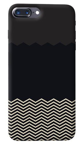 Grey Chevron iPhone 8 Plus Cover