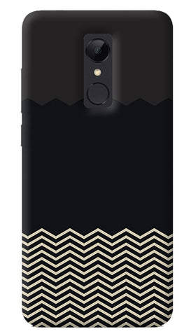Grey Chevron Redmi Note 5 Case