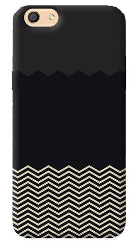 Grey Chevron iPhone 8 Cover