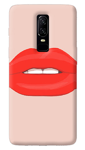 Lips Oneplus 6 Case
