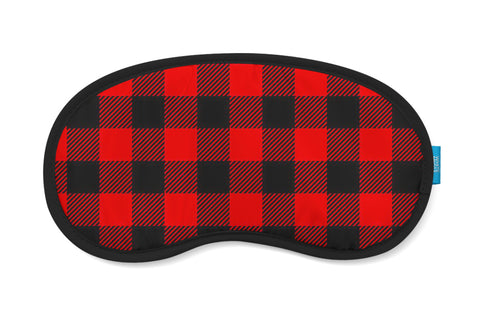 Lumberjack Plaid Eye Mask