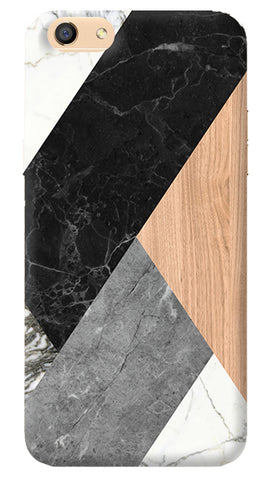 Marble Wood Abstract iPhone 8 Cover
