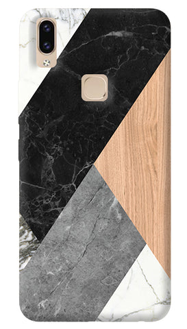 Marble Wood Abstracts Vivo V9 Cover