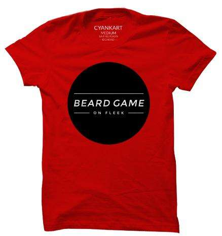 Beard Game XXXL T-Shirt