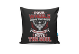 Move The Soul Cushion Cover