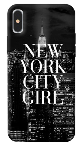 New York City Girl iPhone X Cover