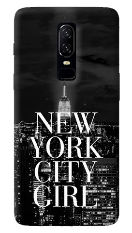 New York City Girl Oneplus 6 Case