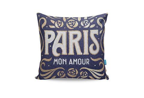 Paris Mon Amour Cushion Cover