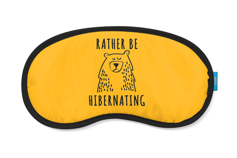 Rather Be Hibernating Eye Mask