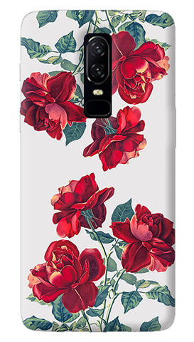 Red Roses Oneplus 6 Case