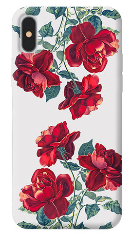 Red Roses iPhone X Cover