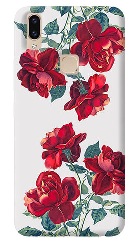 Red Roses Vivo V9 Cover