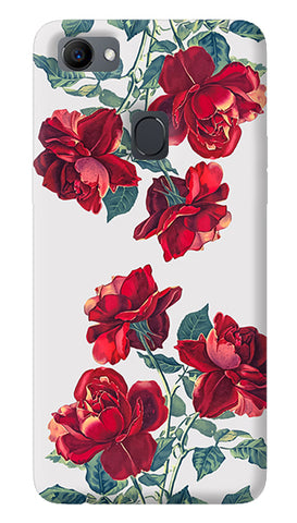 Red Roses Oppo F7 Cover