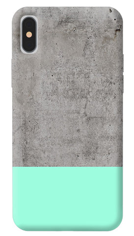 Sea Concrete iPhone X Cover