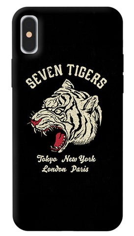 Seven Tigers iPhone X Cover