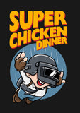 Super Chicken Dinner Poster