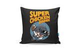 Super Chicken Dinner Cushion Cover