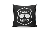 Swole Patrol Cushion Cover