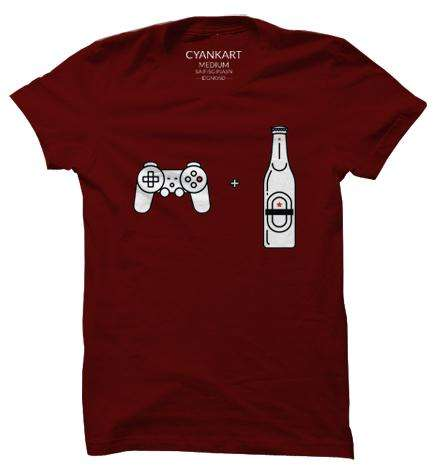 Beer and Gaming XXXL T-Shirt