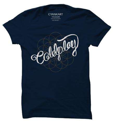 Coldplay XXXL T-Shirt