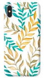 Tropical Leaves iPhone X Cover