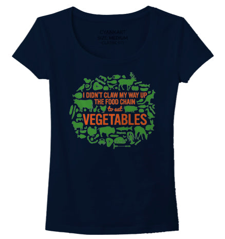 Non Vegetarian Women's T-Shirt
