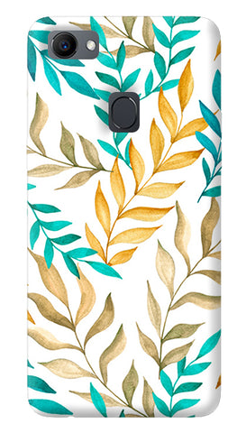 Tropical Leaves Oppo F7 Cover