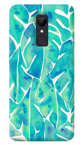 Turquoise Leaf Redmi Note 5 Case