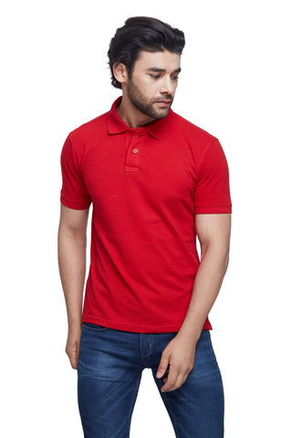 Madrid Red Polo T-Shirt