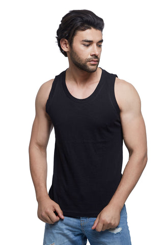 Black Basic Tank Top
