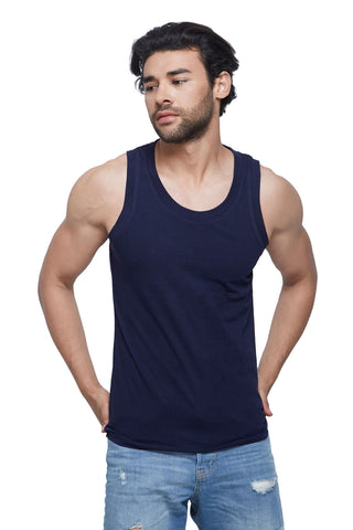 Navy Basic Tank Top