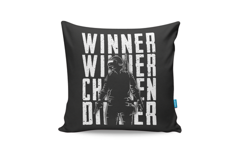Winner Winner Chicken Dinner Cushion Cover