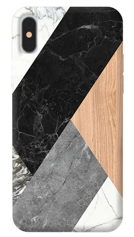 Wood Abstract iPhone X Cover