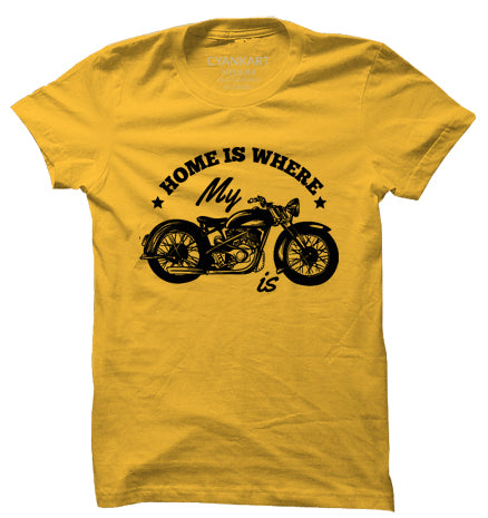 Bikers Home T-Shirt